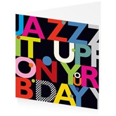 Jazz it up on your Birthday