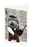Hamish the bagpiping scottish terrier
