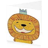 Happy Smiley Lion