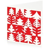 Red Christmas Trees - Pack